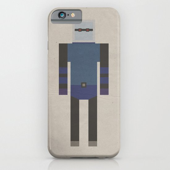 Retro Mr.Freeze iPhone & iPod Case