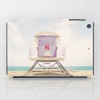 Lifeguard Tower 2  iPad Case