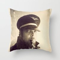 Sea Dog  Throw Pillow