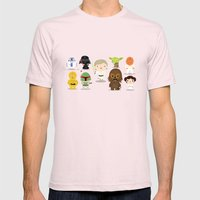 The Force Mens Fitted Tee Light Pink SMALL