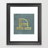 Letter A Day Project - A… Framed Art Print