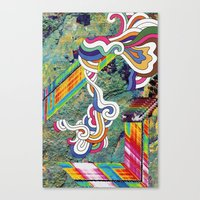 Psychedelic Emporium Canvas Print
