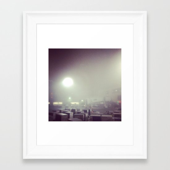 Travels Framed Art Print