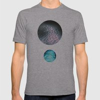 Shimmer Mens Fitted Tee Athletic Grey SMALL