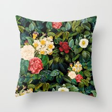 NIGHT FOREST VIII Throw Pillow