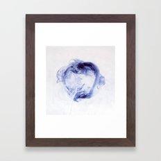 ink ring  Framed Art Print