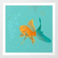 Approaching Dusk - Under The Sea Art Print