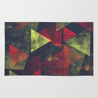 Weathered Triangles Rug