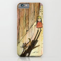 walking the cat iPhone 6 Slim Case