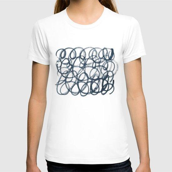 Navy Swirls T-shirt