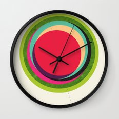 FUTURE GLOBES 002 Wall Clock