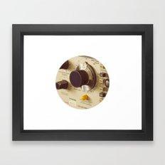 Dials Framed Art Print