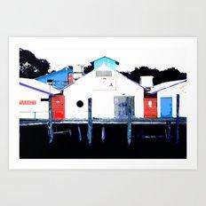 123456789 Art Print
