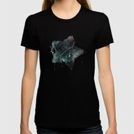 P Sceptrum Womens Fitted Tee Black SMALL