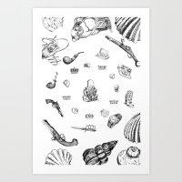 Necke Art Print
