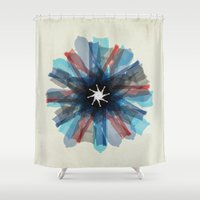 Flos Americana Shower Curtain