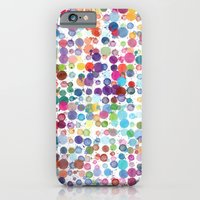 Colorful Paint Splats iPhone 6 Slim Case