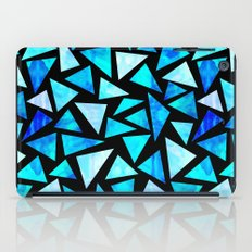 Blue Triangle Mountains iPad Case