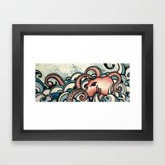 Octowave Framed Art Print