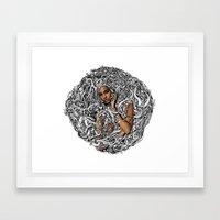 SINK Framed Art Print