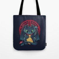 Maneki Dragon Tote Bag