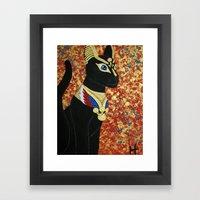 Egyptian Cat Framed Art Print