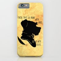 Those That Lie Down With Dogs, Get Up with Fleas iPhone 6 Slim Case