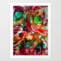 Turbulence Art Print