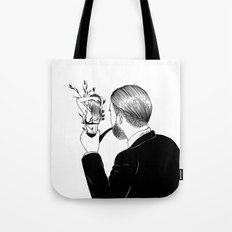 Man In Love Tote Bag