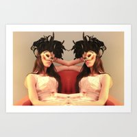 Jumeaux Art Print