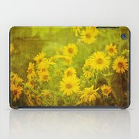Flowers Of The Field iPad Case