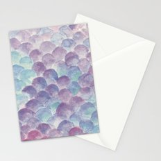 purple scales Stationery Cards