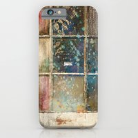 iPhone & iPod Case featuring Watercolor Stained Window by Kokabella