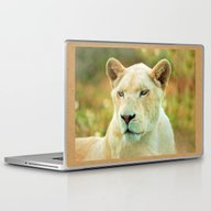 Laptop & iPad Skin featuring LIONESS LOVE by Catspaws