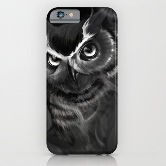 Owl Aflame iPhone & iPod Case