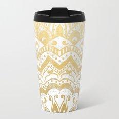 GOLD ORION JEWEL MANDALA Travel Mug