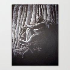 Woman 4 Canvas Print