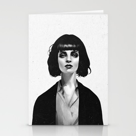 Mrs Mia Wallace Stationery Card
