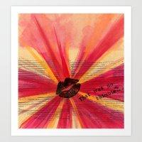 Valentine Thimble Art Print