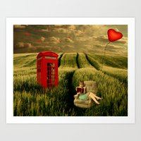 My baby should call anytime Art Print