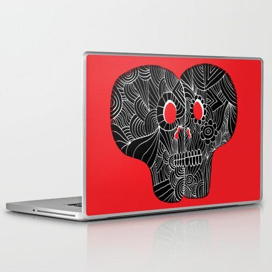 Love Skulls Laptop & iPad Skin