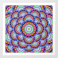 Mandala Psychedelic Visi… Art Print