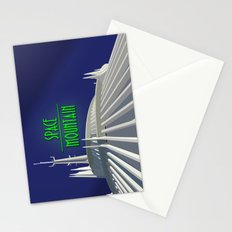 Space Mountain - Tomorrowland Stationery Cards