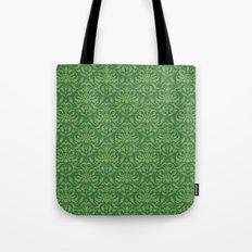 Cloud Factory Damask - Watergrass Tote Bag