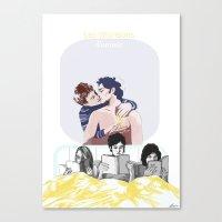 Chansons Canvas Print