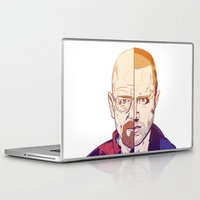 breaking bad Laptop & iPad Skins featuring Breaking Bad by Connick Illustrations