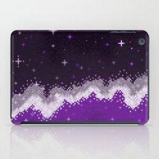 Ace Pride Flag Galaxy iPad Case