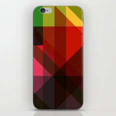 Rainbow Facets iPhone & iPod Skin