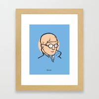 David Hockney Framed Art Print