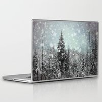 snow Laptop & iPad Skins featuring Snow by Pure Nature Photos